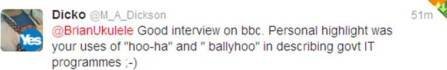 Hoo-ha and ballyhoo