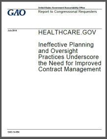 GAO Obamacare cover